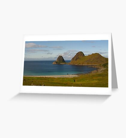 Vesteralen Islands, Norway Greeting Card