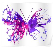 Watercolor Butterfly Poster