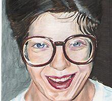 Portrait 1. by Rebecca Skeels