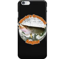 World's greatest angler iPhone Case/Skin