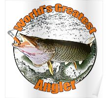 World's greatest angler Poster