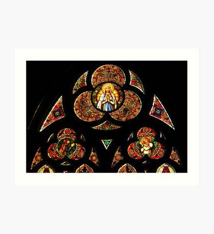 Linz Cathedral, Austria Art Print