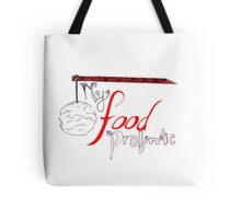 My Food is Problematic - Hand drawn Tote Bag
