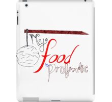 My Food is Problematic - Hand drawn iPad Case/Skin