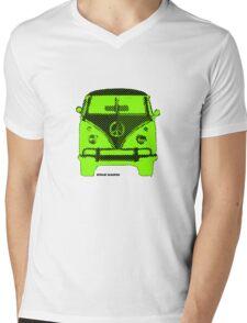 Splitty VW Bus Front Screen Mens V-Neck T-Shirt