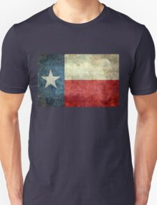 "The ""Lone Star Flag"" of The Lone State Texas Unisex T-Shirt"