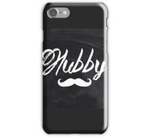 rustic Valentine's Day  chalkboard scripts  groom hubby iPhone Case/Skin