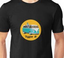 Splitty VW Bus Type 2 Unisex T-Shirt