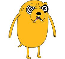 Jake - Adventure time Photographic Print