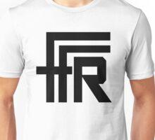 Free Flow Radio Logo (Black) Unisex T-Shirt