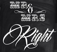 shabby chic vintage chalkboard scripts Mr and Mrs by lfang77