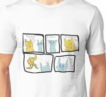 Lionblaze and Jayfeather Unisex T-Shirt