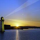 Light House Rays by John Walsh, IRELAND