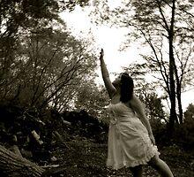 Reaching for something or someone? by Millisa B