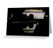 Washington DC Reflection 1 Greeting Card