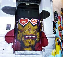 Graffiti Door by Stephanie Stengel | stelonature photography
