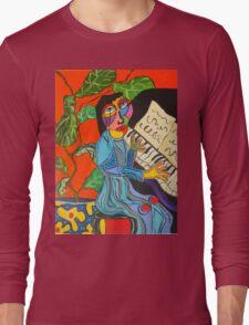 Piano Lady Long Sleeve T-Shirt