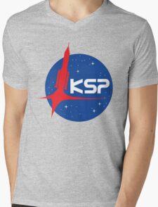 KSP Mens V-Neck T-Shirt