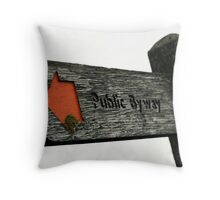 My Way Or The Highway Throw Pillow