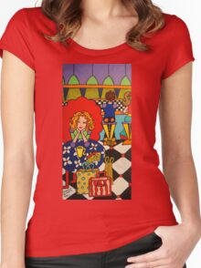 Shopping Day  Women's Fitted Scoop T-Shirt