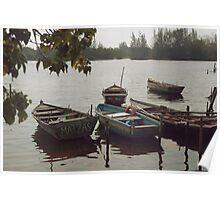 Matanzas boats Poster
