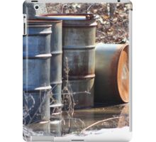 Old Barrels #1 iPad Case/Skin