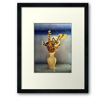 Spring Spice Framed Print