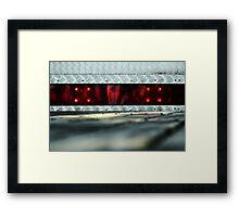 Sleeping Cylon Framed Print
