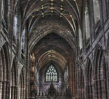 The Altar - Chester Cathedral Cheshire by Emma Wright