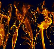 Flaming by Clayton Bruster