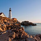 Portland Head Light (X) by Jeff Palm Photography