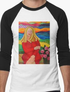 Girl On A Bench T-Shirt