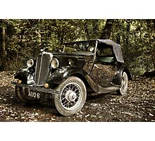 Morris Eight Series 1 Photographic Print