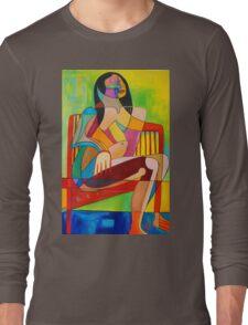 Sitting In The Sun Long Sleeve T-Shirt