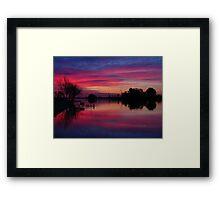 Ebro Delta, Spain Framed Print
