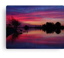 Ebro Delta, Spain Canvas Print