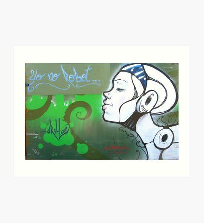 Yo No Robot, Spain Art Print