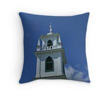 Steeple, Christ Church, Upper Canada Village by Colin Harper Throw Pillow