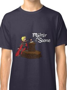 Mjolnir in the Stone Classic T-Shirt