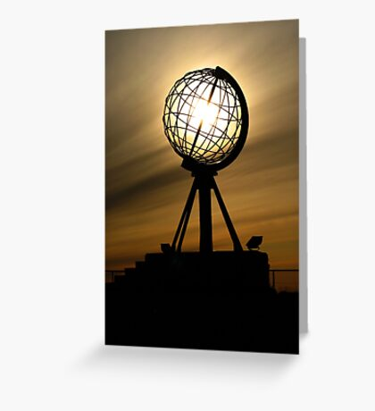 Nordkapp, Norway Greeting Card