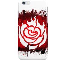 RWBY Ruby Rose Splatter iPhone Case/Skin