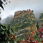 Meteora Monastery World Heritage Site by axieflics