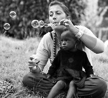blowing bubbles by janko
