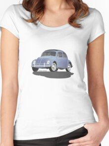 VW Beetle Bug Kaefer Women's Fitted Scoop T-Shirt