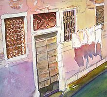 Laundry Day in Venice by Christiane  Kingsley
