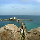 View of Monastir Harbour from the Ribat by mariarty