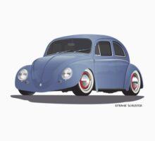 Low VW Beetele Bug Kaefer Rat Rod by Frank Schuster