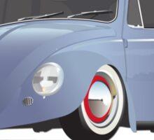 Low VW Beetele Bug Kaefer Rat Rod Sticker