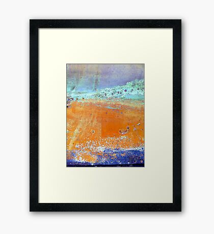 PiNcHeD Framed Print