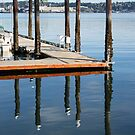 Docks at Port Orchard by Gary Lee Parker